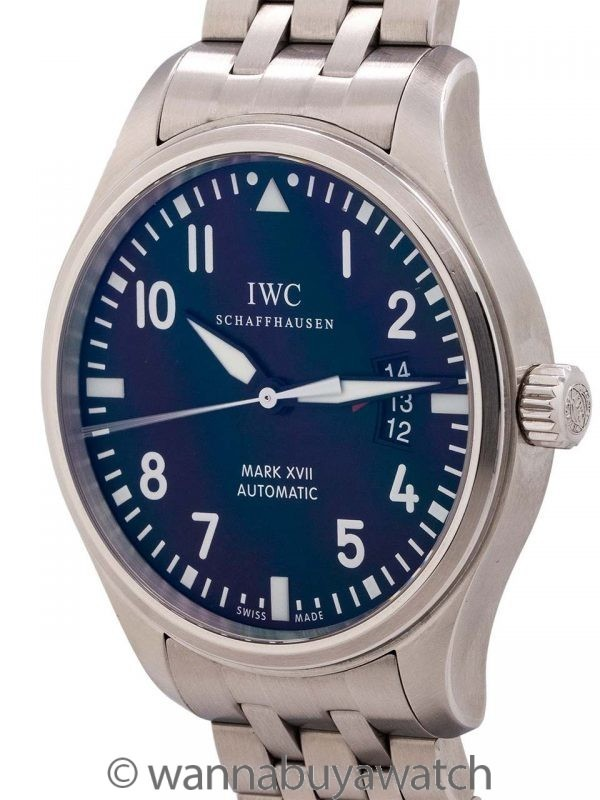 IWC Mark XVII Pilot's circa 2000's with Card