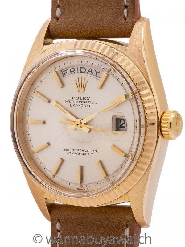 Rolex 18K YG Day Date ref# 1803 circa 1964