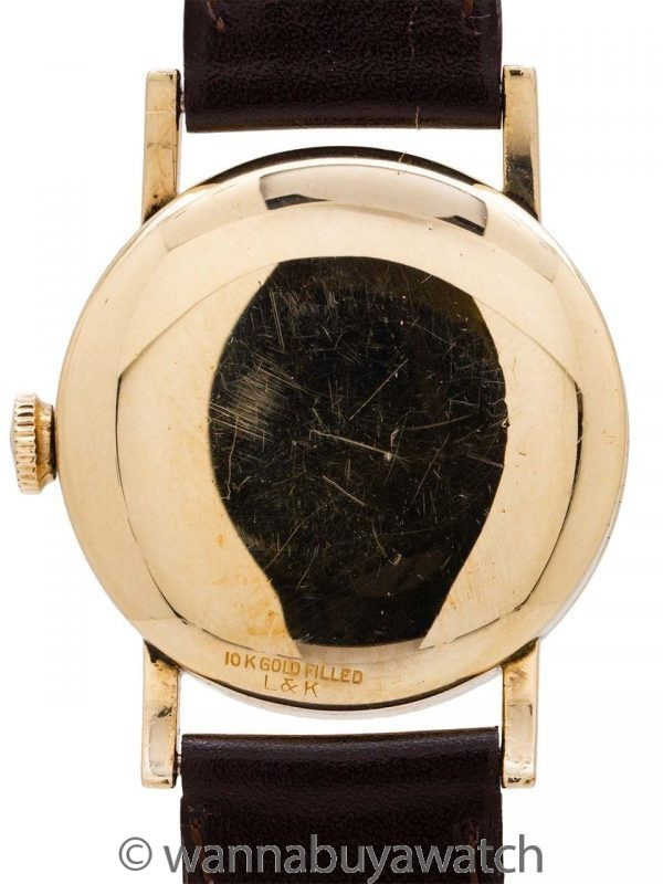 Longines Calatrava YGF Original Dial circa 1940's