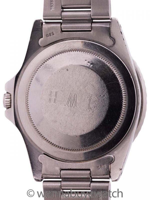 Rolex GMT ref 16750 Transitional Model Matte Dial circa 1981