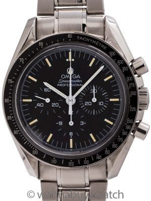 "Omega Speedmaster Man on the Moon ref 145.0022/345.0022 ""Tritium"" circa 1997"