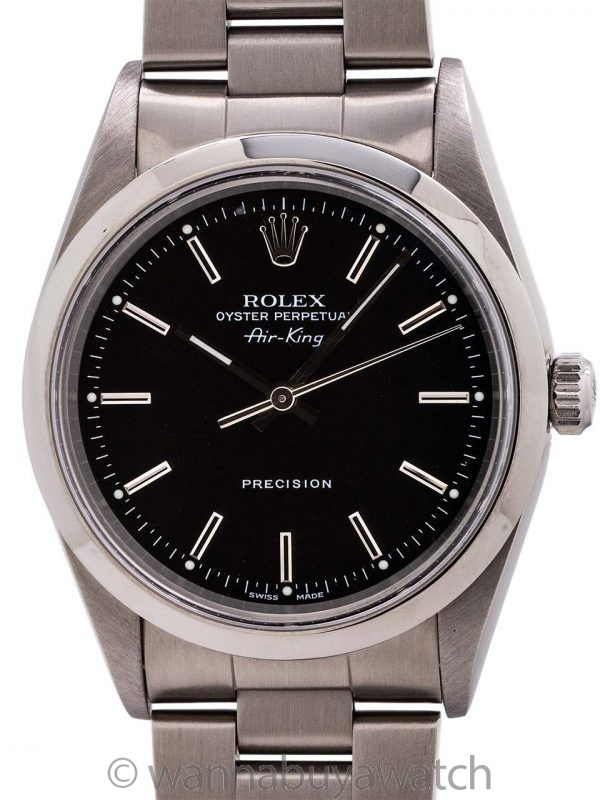 Rolex Oyster Perpetual Airking ref 14000 circa 1999