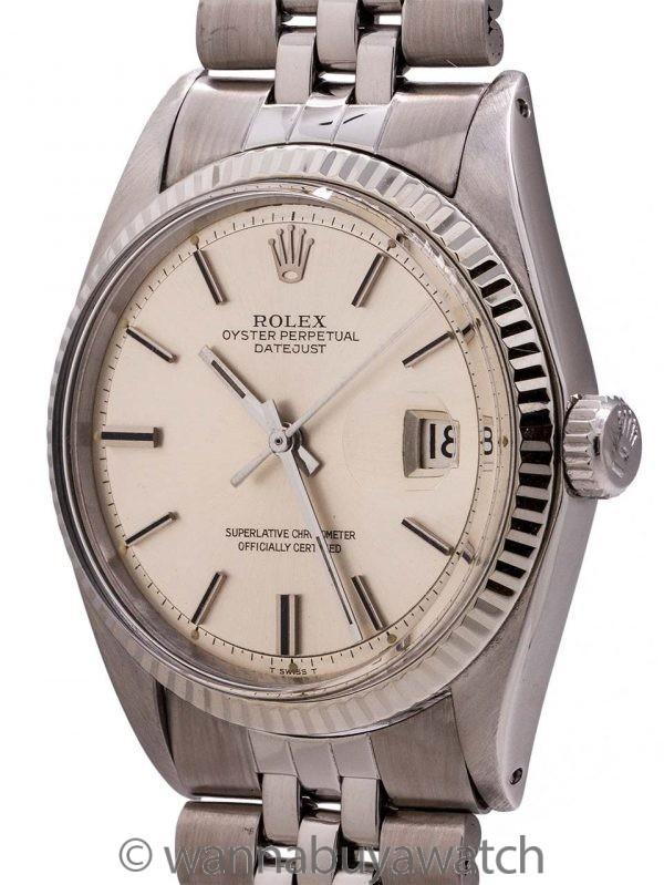 Rolex Datejust ref 1601 SS/14K WG circa 1970
