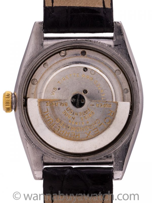 Rolex SS/14K YG Bubbleback Serpico Y Laino circa 1938