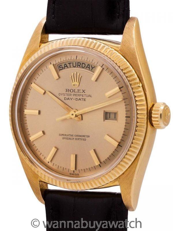 Rolex 18K YG ref 6611B Day Date circa 1959