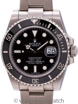 Rolex Submariner ref 116610 Ceramic circa 2010 B & P