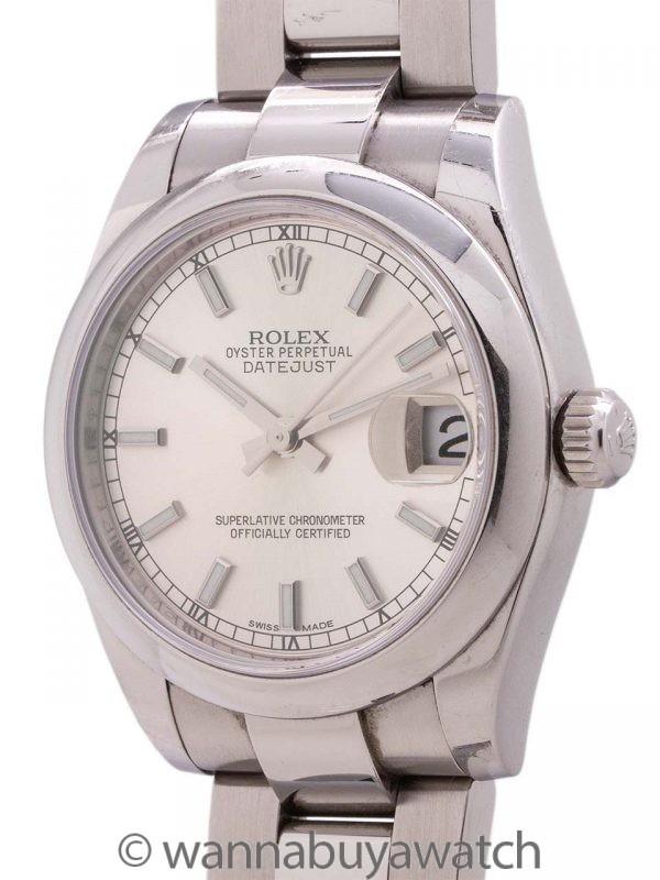 Rolex Midsize Datejust ref 178240 circa 2015 B & P