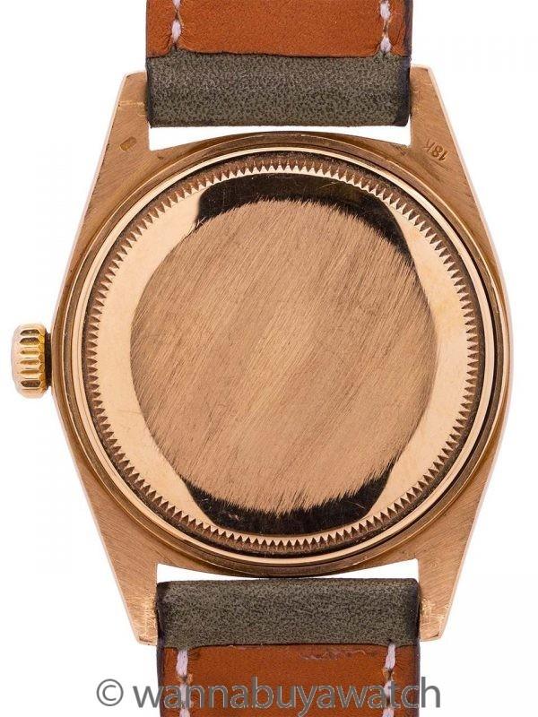 Rolex 18K YG Datejust ref 1601 circa 1972