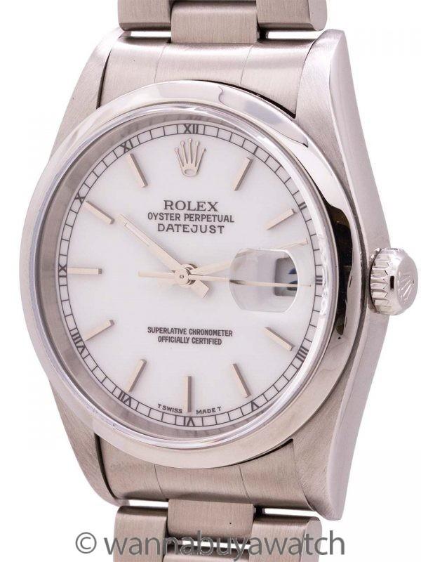 Rolex Datejust ref # 16200 circa 2003