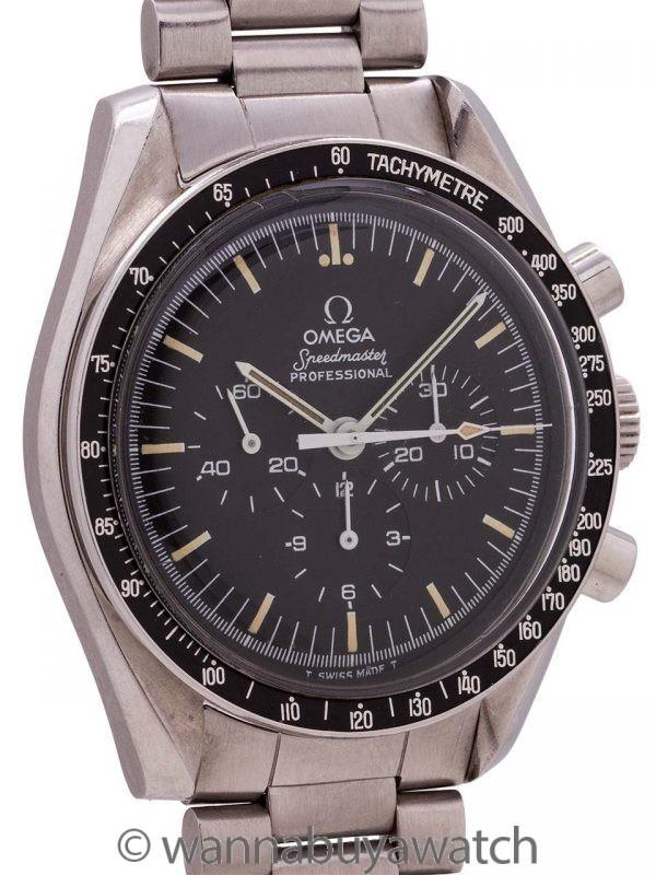Omega Speedmaster Moonwatch ref 145.022-76 circa 1979 MINT!