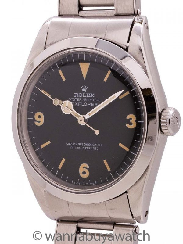 Rolex Explorer 1 ref# 1016 circa 1966