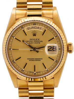 Rolex Day Date ref 18038 18K YG circa 1987