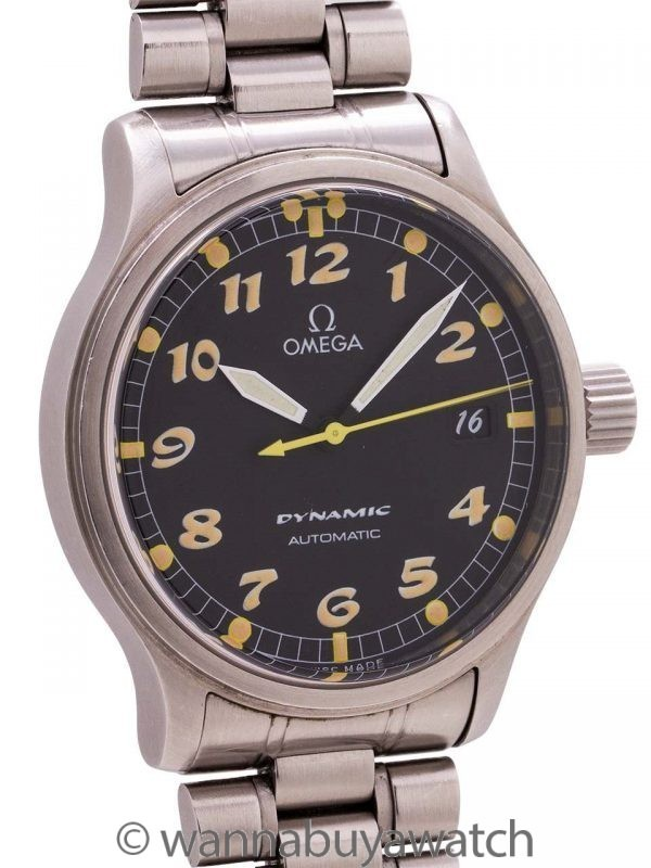 Omega Dynamic SS circa 1995 with Warranty Card