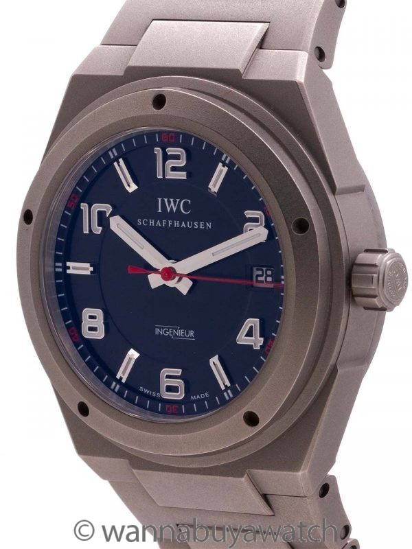 IWC Titanium Ingenieur for Mercedes - AMG Reference IW3227-02 Warranty Card