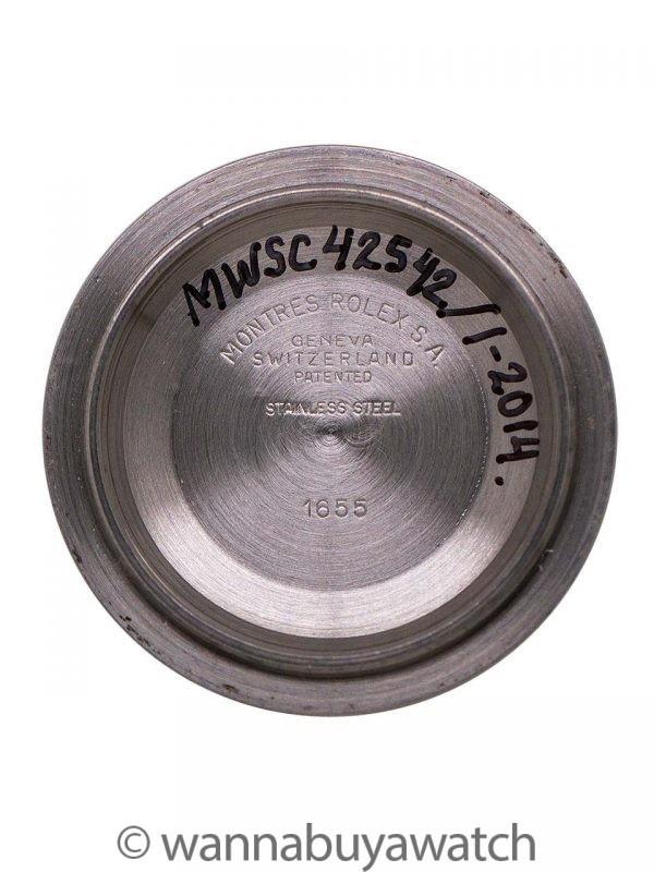 "Rolex Explorer II ref# 1655 Stainless Steel aka ""Steve Mcqueen"" circa 1978"
