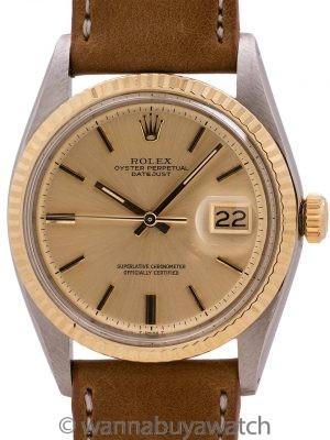 Rolex Datejust ref 1601 SS/14K YG circa 1968