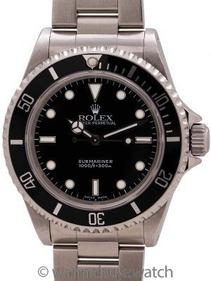 Rolex Submariner ref# 14060M circa 2005 with Papers