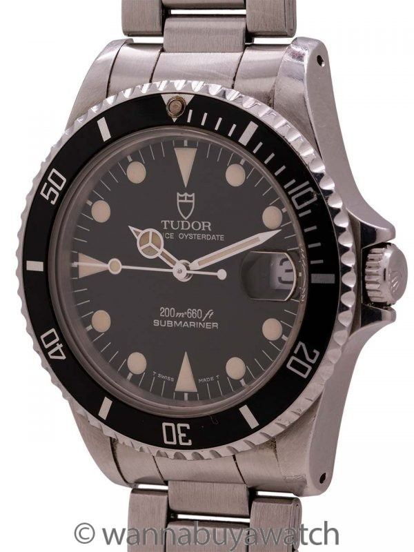 Tudor Submariner ref 75190 circa 1997 Papers & Sticker