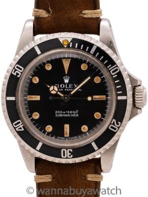 Rolex Submariner Meters First ref 5513 circa 1966