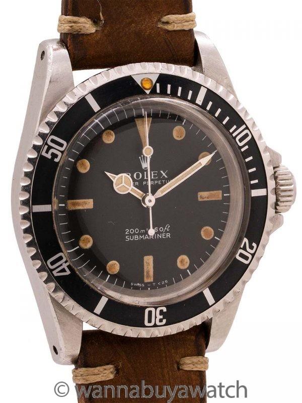 Rolex Submariner Meters First ref 5513 circa 1966