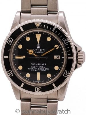 Rolex Submariner Date ref# 1680 Mk II Dial circa 1979