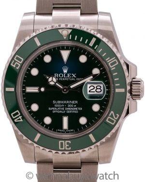"""Rolex Submariner ref 116610LV Green Ceramic """"Hulk"""""""