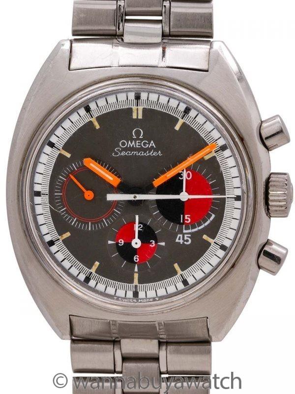 Omega SS Seamaster ref 145.020 Soccer Timer circa 1969