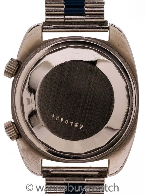 Jaeger Lecoultre Memovox Alarm circa 1970's New Old Stock!