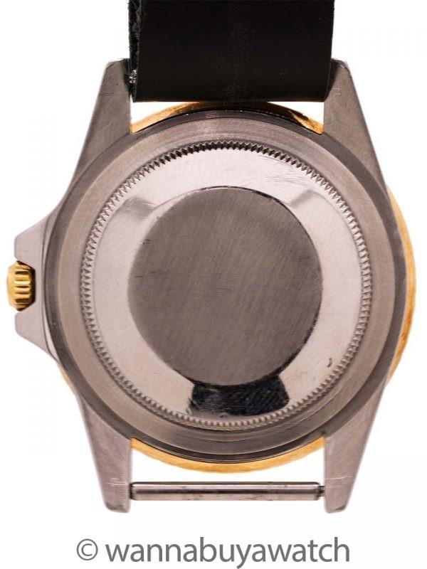 Rolex GMT ref 1675/3 SS/14K YG circa 1971
