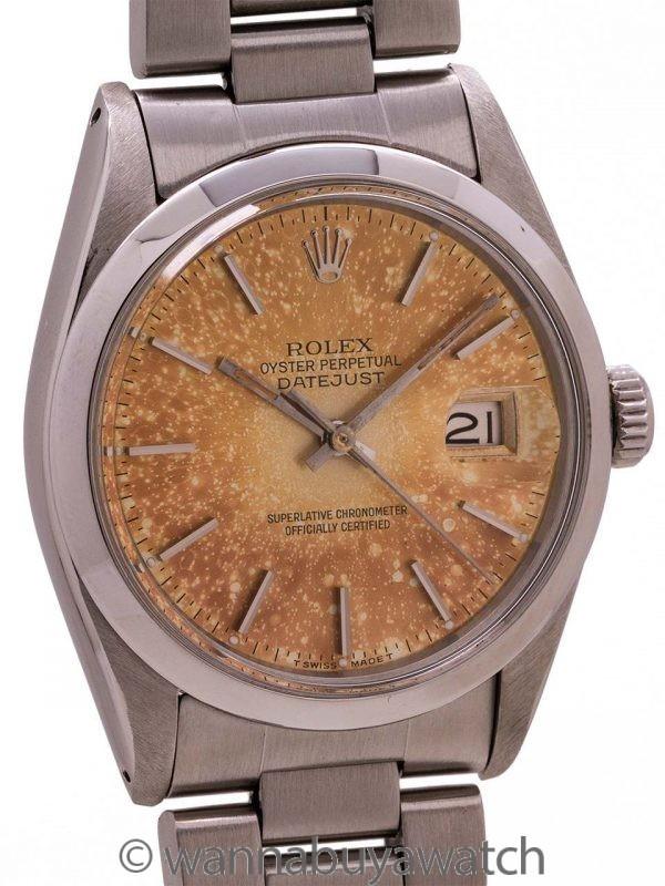 Rolex Datejust ref 16030 Tropical Dial circa 1978