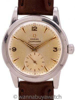 Omega Seamaster 2576-12 Merchant Marines Korean War circa 1951