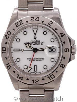 """Rolex Explorer II """"Polar"""" ref 16570 Tritium circa 1997"""