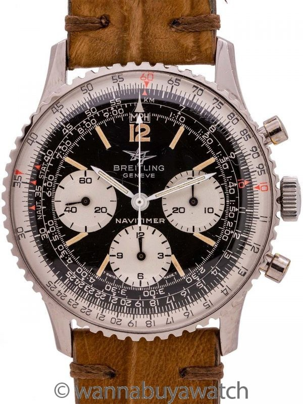 "Breitling Navitimer ""Twin Jets"" ref 806-36 circa 1968"