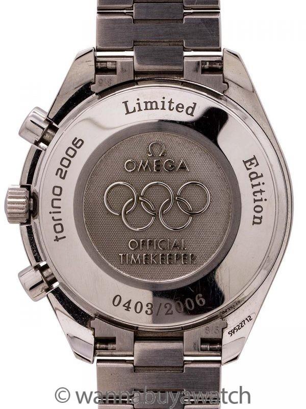 Omega Speedmaster Torino Olympics ref 3538.30 circa 2006