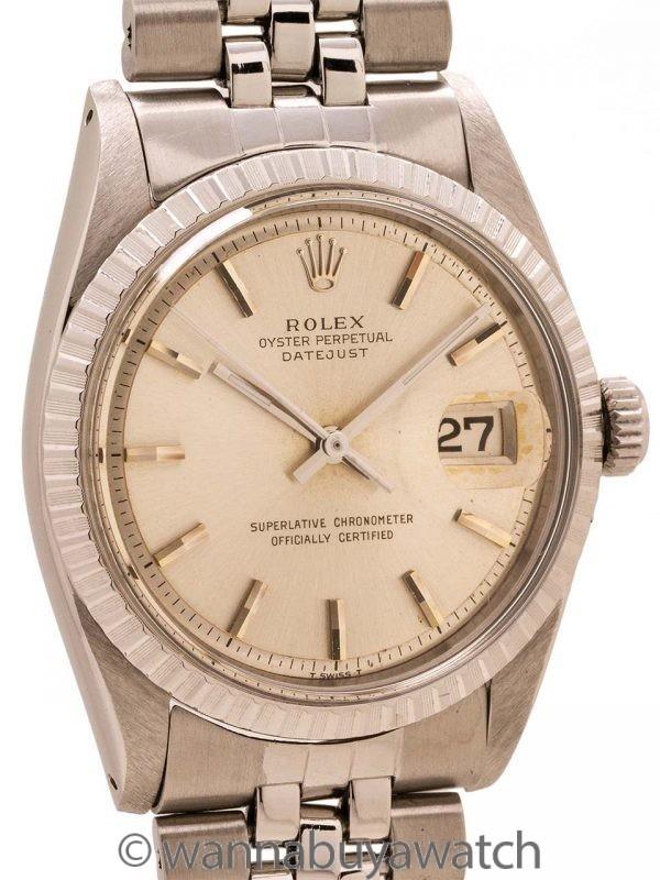 Rolex SS Datejust ref 1603 circa 1960