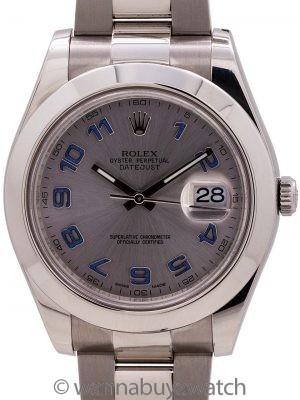 Rolex Datejust II ref# 116300 41mm circa 2015 B & P