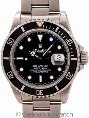 Rolex Submariner ref# 16610 Tritium circa 1993