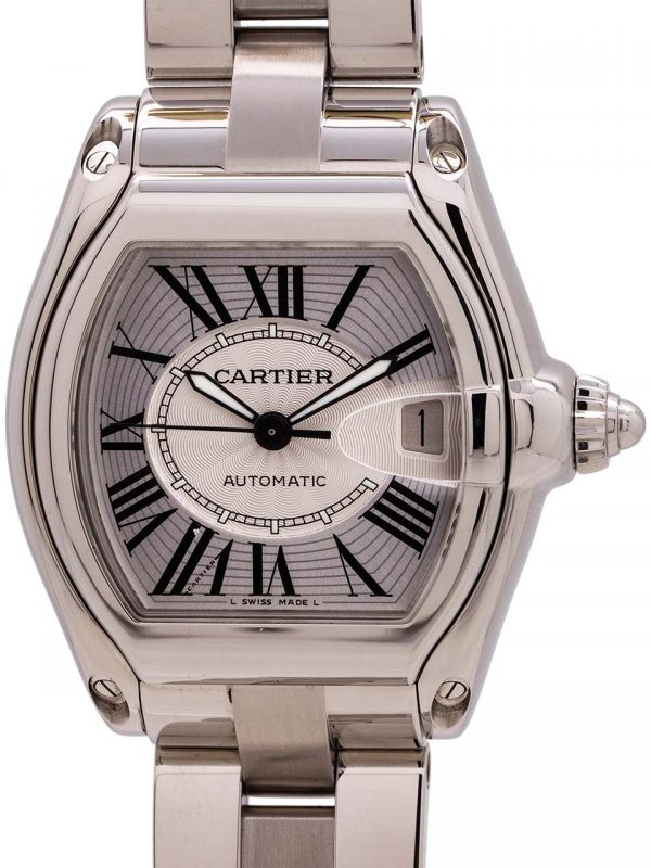 Cartier Man's Roadster Stainless Steel circa 2000's