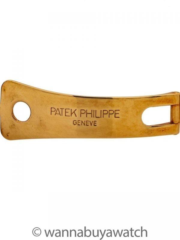Patek Philippe ref 5000J Calatrava 18K YG circa 1990's