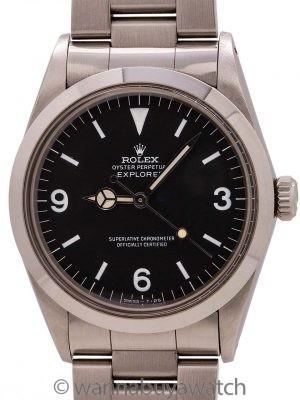 Rolex Explorer 1 ref# 1016 4.4 M Service Case circa 1980's