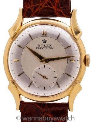 Rolex Precision 18K YG ref. 4477 circa 1955