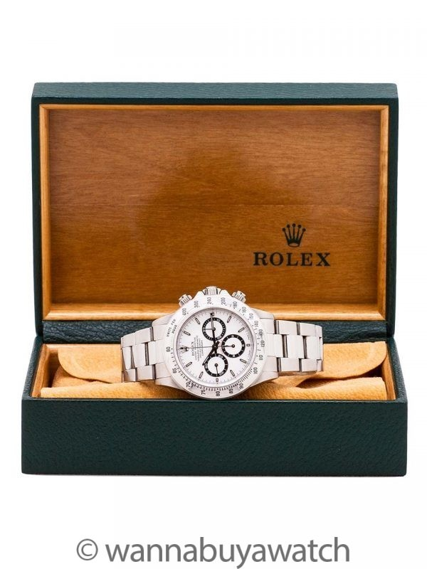 Rolex Daytona ref 16520 Zenith circa 1997 Box, Tags, Booklets & Service Papers