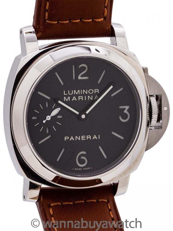 Panerai Luminor Marina PAM-00111 circa 2010 w/ Box & Papers