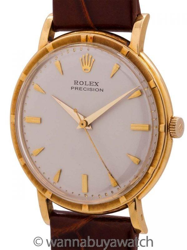 Rolex Precision Ref. 8952 14K YG circa 1950s
