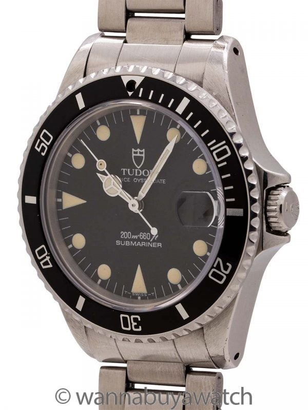 Tudor Submariner ref 75090 36mm circa 1992