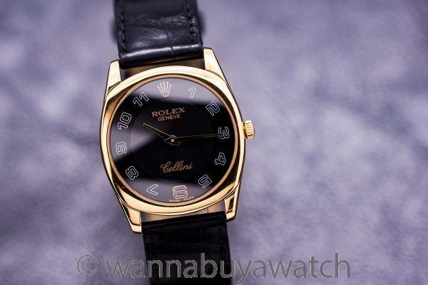 Rolex Cellini Danaos 18K Ref# 4233 Circa 2007
