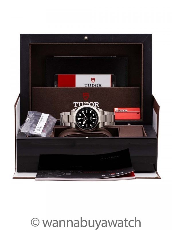 Tudor Black Bay 36 Full Set circa 2017