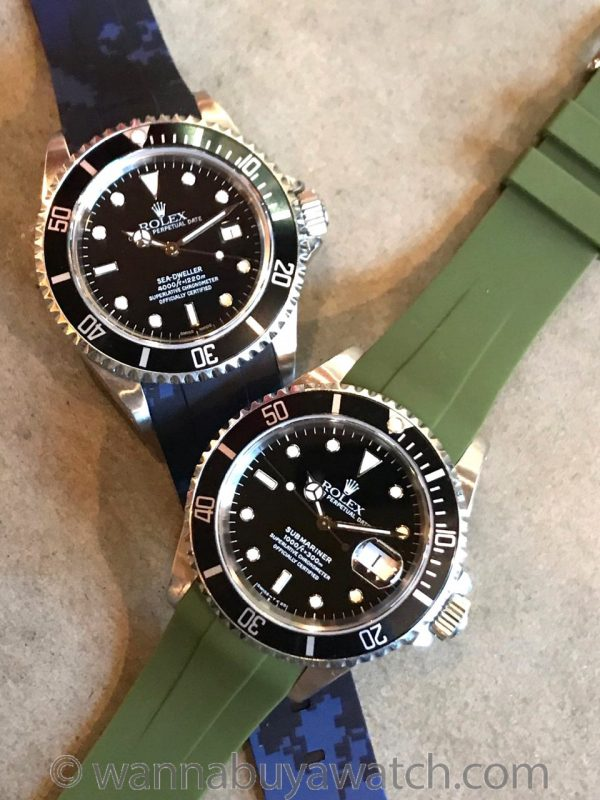 HORUS Silicon Rubber Watch Straps