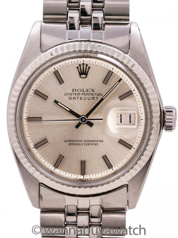 Rolex Datejust Stainless Steel ref 1601 circa 1963
