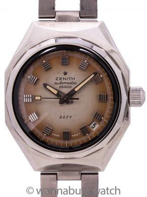 Zenith Defy ref #A3642 circa 1969